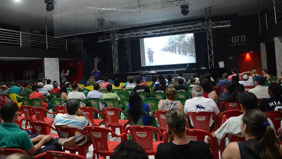 Reunião de associados da BBom, em Lucas do Rio Verde, no Mato Grosso