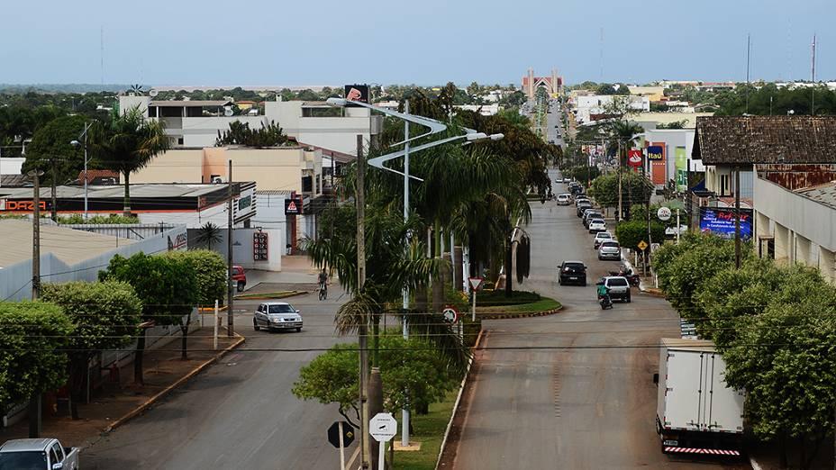 Cidade Lucas do Rio Verde, no estado do Mato Grosso