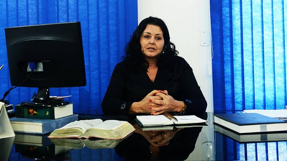 Isabel de Fátima Ganzer, superintendente do Procon de Lucas do Rio Verde, no estado do Mato Grosso