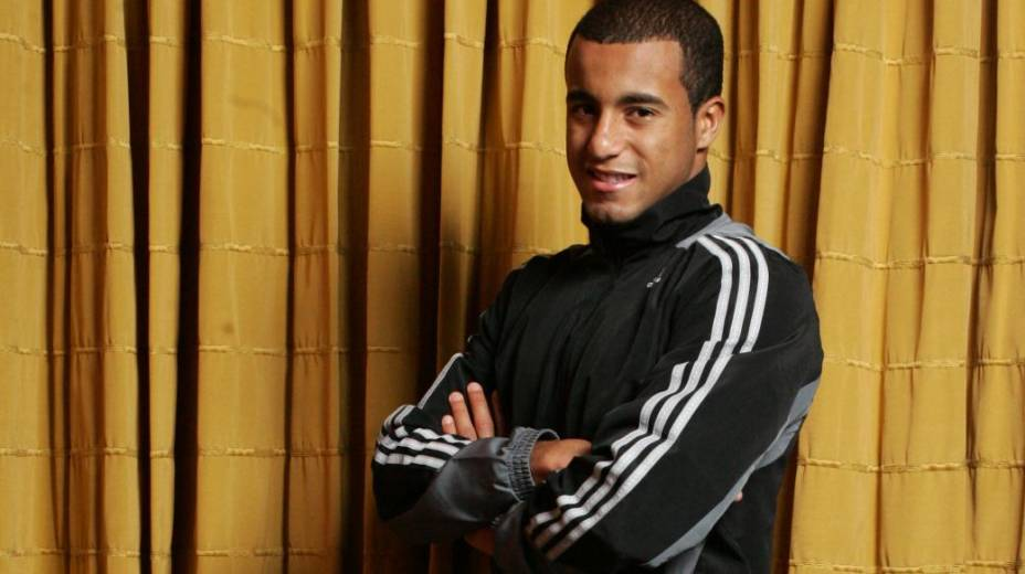Lucas, jogador do São Paulo, em 2011