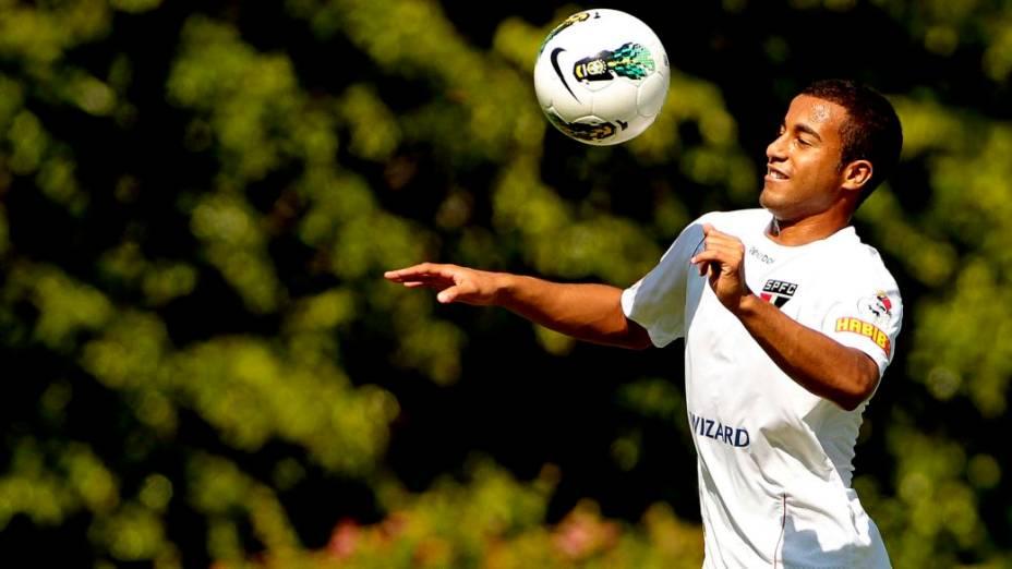 Lucas, do São Paulo e da seleção brasileira