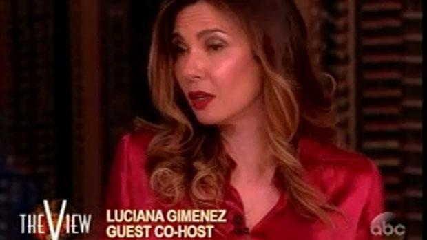 Luciana Gimenez estreia na TV americana como apresentadora convidada do The View, da rede ABC