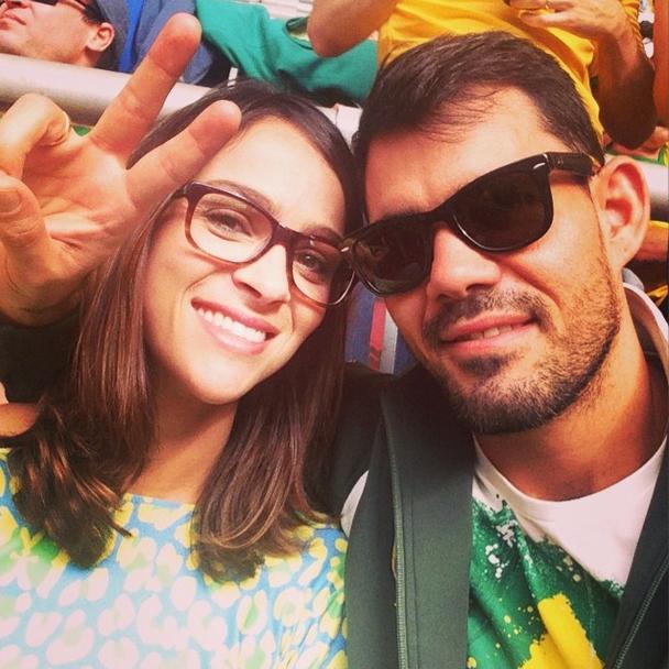 Ator Luciano Cazarré torce pelo Brasil no jogo desta segunda-feira