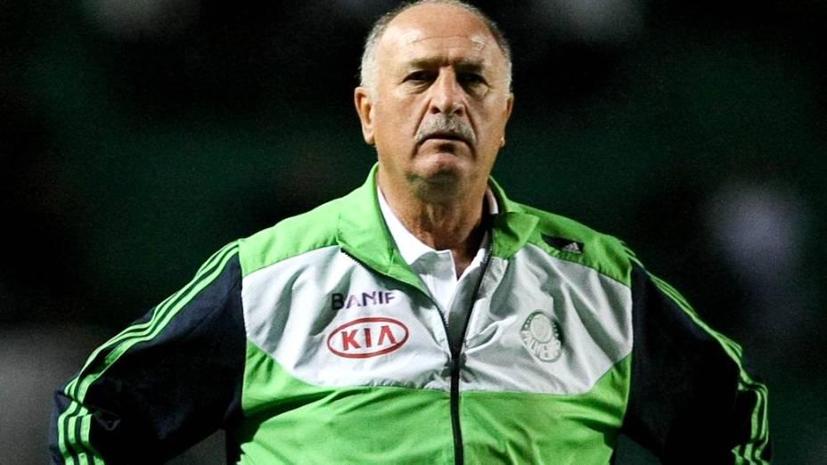 Luiz Felipe Scolari, sobre a fase ruim do palmeiras: O time faz tudo certo e os gols não aparecem