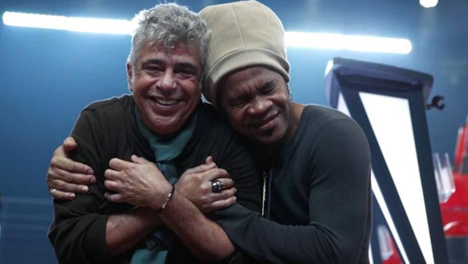 Lulu Santos e Carlinhos Brown são dois dos técnicos de The Voice Brasil