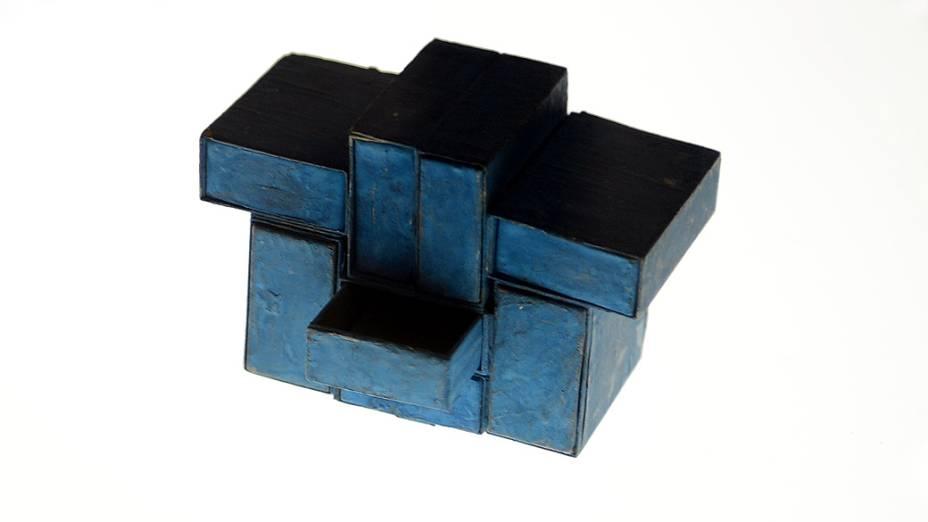 Estrutura de caixas de fósforos, de 1964