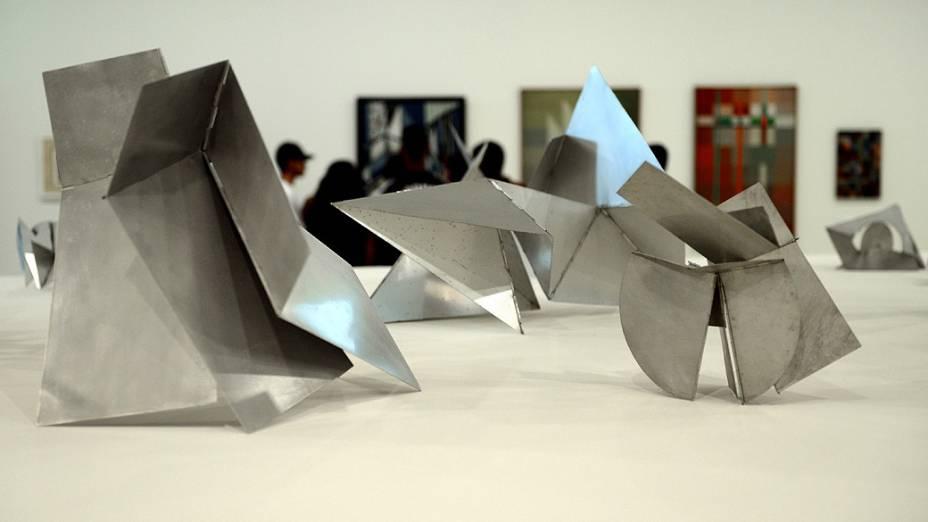 Bichos de Lygia Clark, em exposição até 11/11 no Itaú Cultural