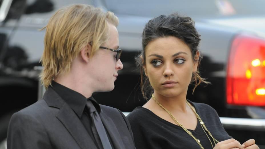 Macaulay Culkin e Mila Kunis passaram a infância juntos, e namoraram antes de ela ficar com Ashton Kutcher