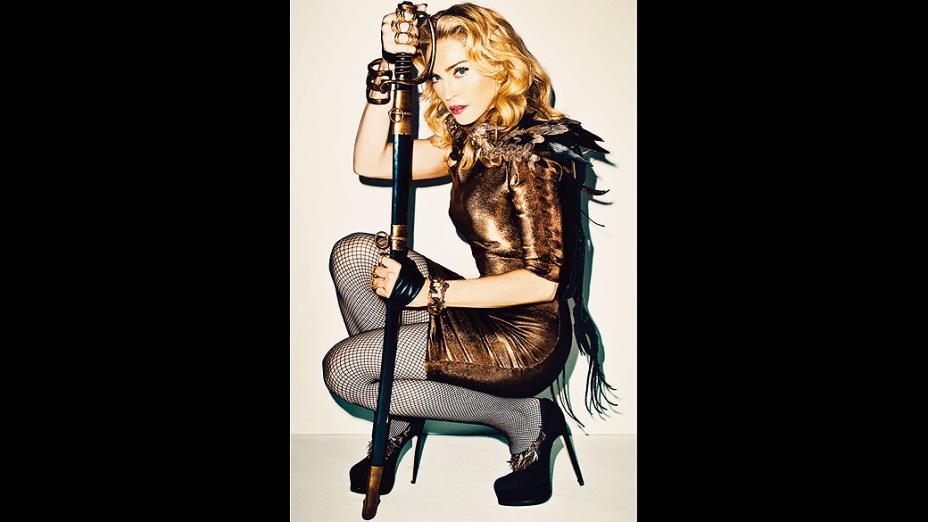 Madonna na revista americana 'Harper's Bazaar'