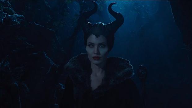 Angelina Jolie no filme 'Malévola', da Disney