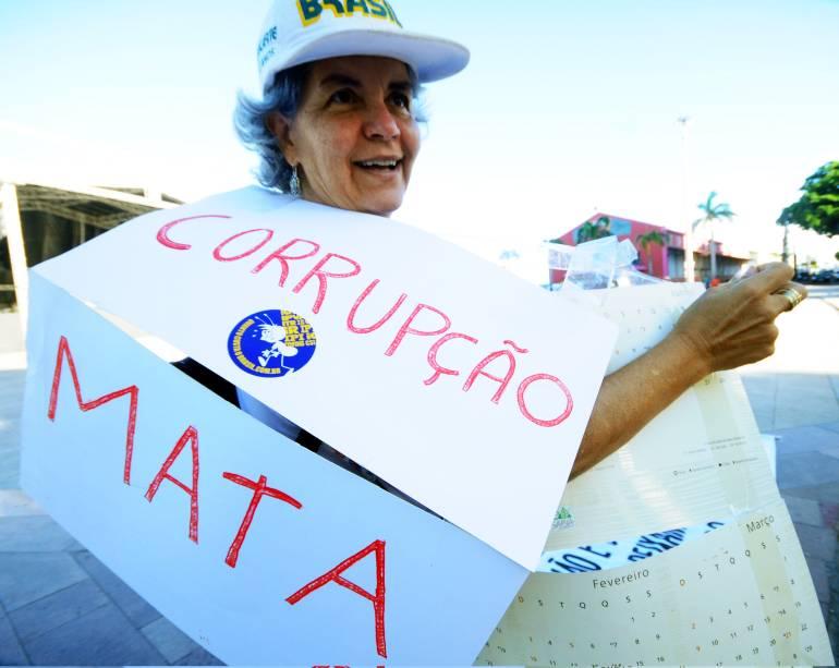 Na cidade do Recife, a 4ª marcha contra corrupção