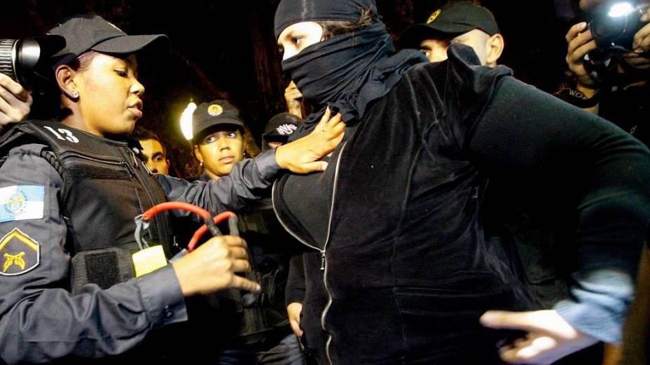 Manifestação no Palácio da Guanabara nesta quarta (14/8)