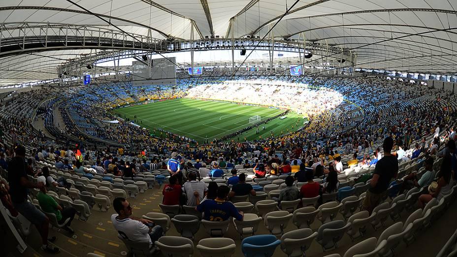 Torcedores voltam ao Maracanã e Itália vence o México pela Copa das Confederações