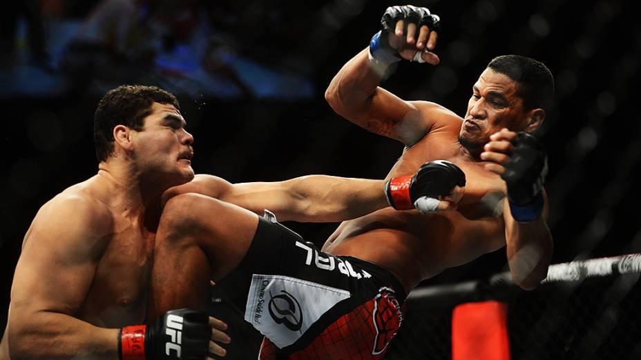 Ildemar Marajó estreou com vitória no UFC São Paulo, neste sábado (19 de janeiro), no ginásio do Ibirapuera