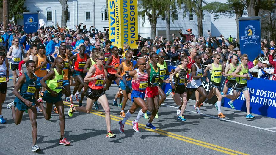 Segurança reforçada em Boston: mais de 36.000 atletas inscritos