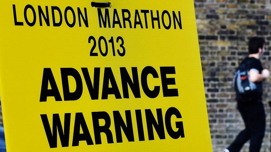 Londres está em alerta para possíveis atentados na maratona