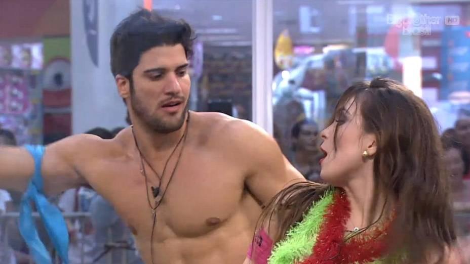 Marcello e Kamilla: os escolhidos da casa de vidro para entrar no BBB 13