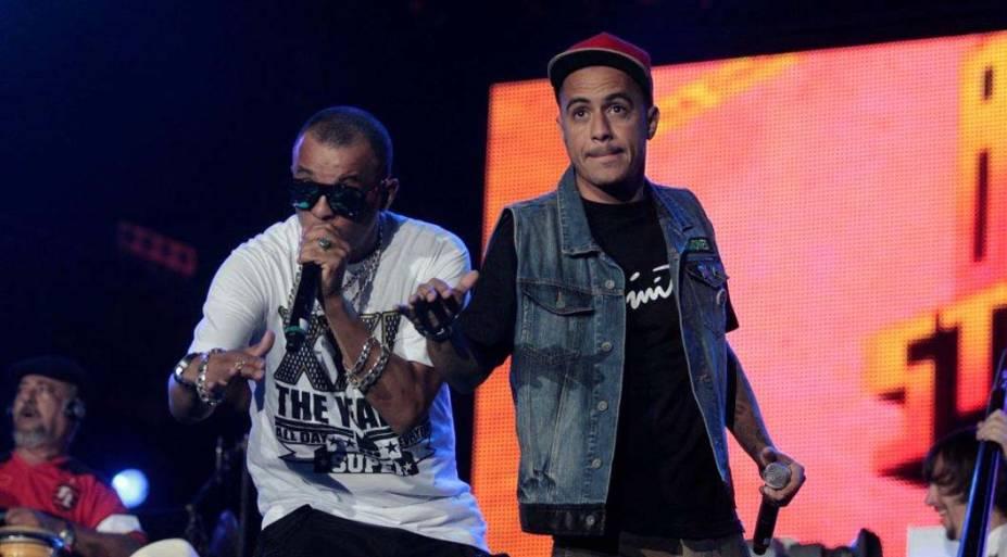 Show de Marcelo D2 no palco Mundo, no quinto dia do Rock in Rio, em 30/09/2011