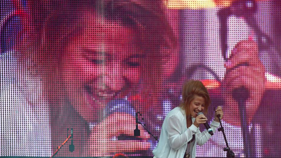 Show da cantora Selah Sue no Rock in Rio 2013