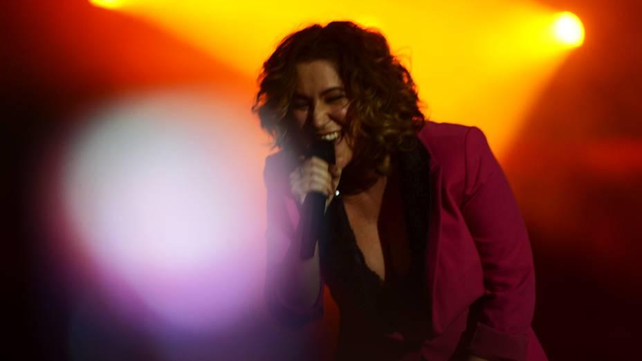 Maria Rita no palco Sunset, no Rock in Rio 2013