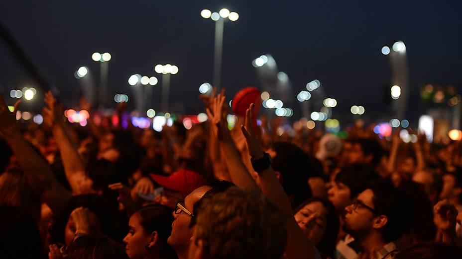 Fãs durante show de Maria Rita e Selah Sue, no Rock in Rio 2013