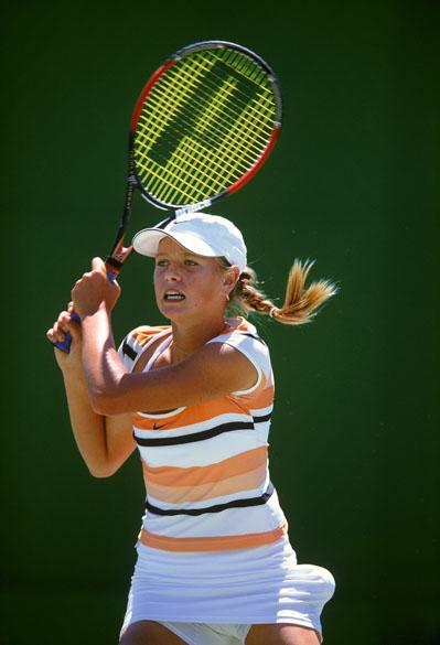 Maria Sharapova chegou a final Australian Open junior em 2002, com apenas 14 anos