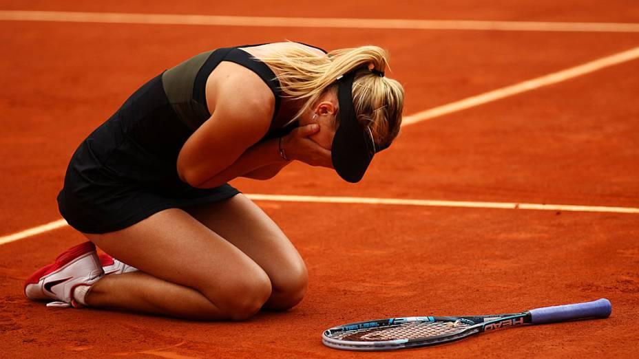 Sharapova conquista seu quarto Grand Slam ao vencer o Roland Garros em 2012