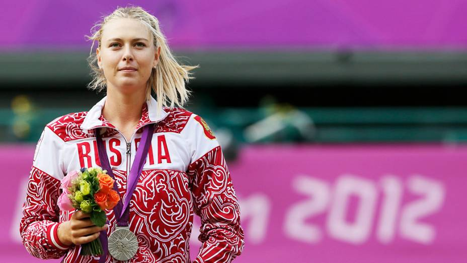 Sharapova, medalha de prata nos Jogos de Londres