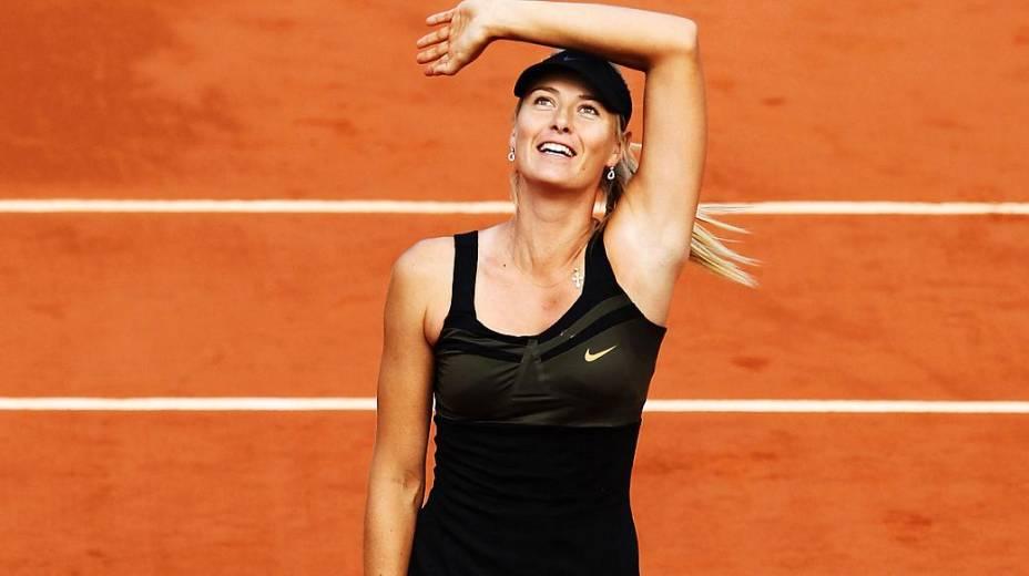 Maria Sharapova volta a ser líder do ranking da ATP