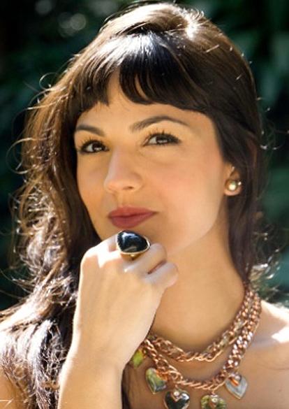 A atriz Mariana Cortines, de 24 anos