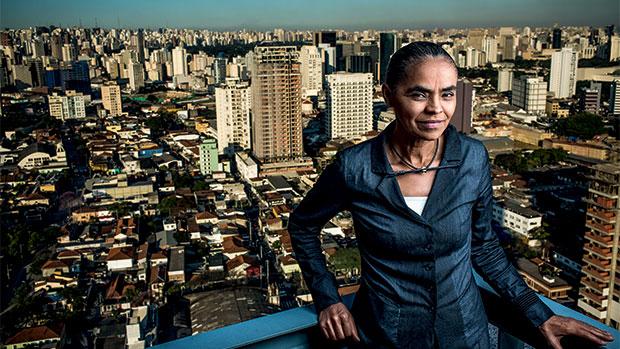 """Eduardo Campos e Marina Silva decidiram começar a campanha na comunidade Sol Nascente, em Ceilândia, para mostrar o """"Brasil real"""" a apenas 35 km de Brasília"""