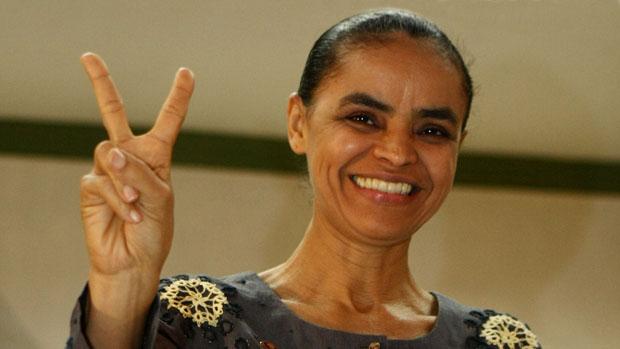 A candidata do PV, Marina Silva, foi a primeira a registrar sua candidatura à Presidência da República