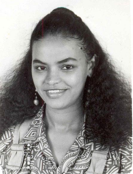 Marina Silva em 1990, aos 32 anos, quando exercia o cargo de vereadora em Rio Branco, no Acre. No mesmo ano, Marina foi eleita deputada federal