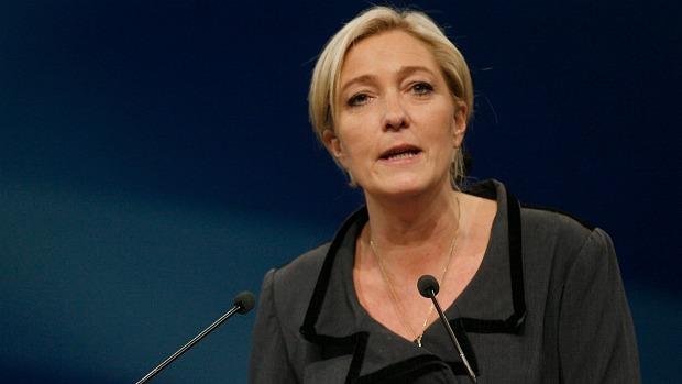 Marine Le Pen, de 42 anos, foi oficializada candidata da Frente Nacional às eleições de 2012, em maio passado