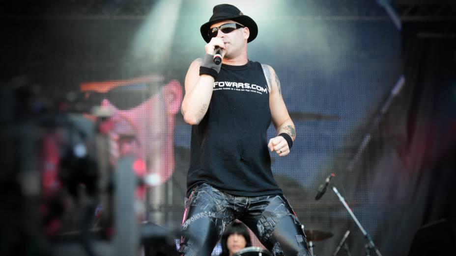 Apresentação de Marky Ramone & Michael Graves no segundo dia do Rock in Rio 2013