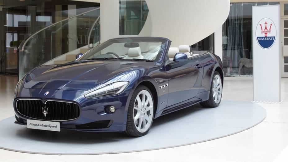 A Fiat, que também detem os direitos sobre a Maserati, vai mostrar um Grancabrio Sport no Salão
