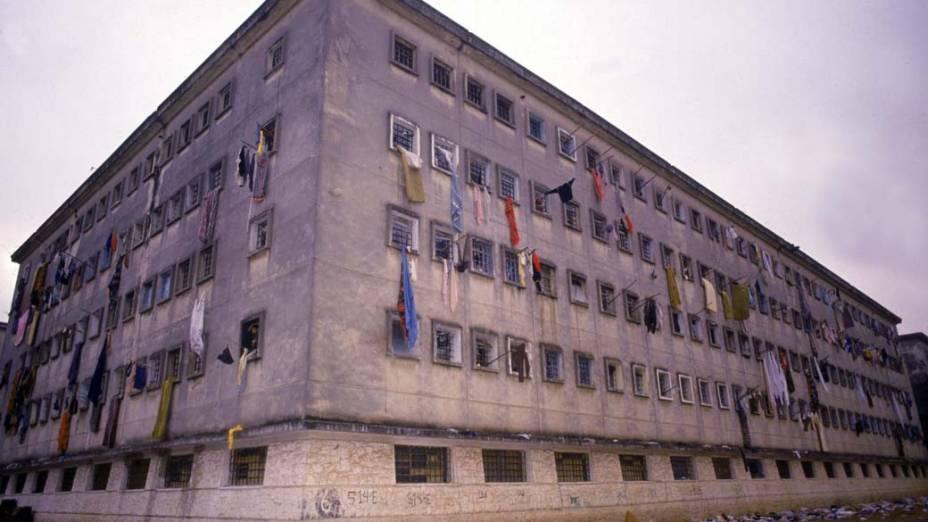 Pavilhão 9 da Casa de Detenção de São Paulo, em outubro de 1992