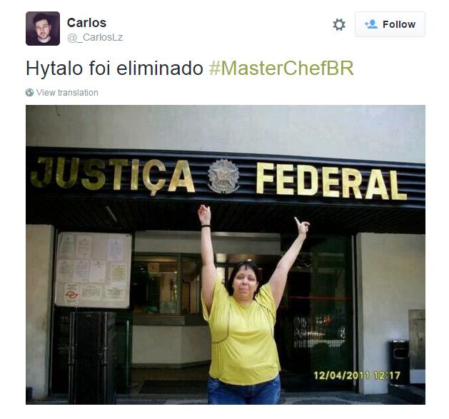 Cadê a Justiça na eliminação de Hytalo?