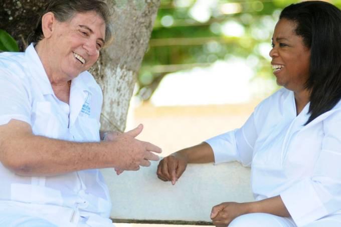 João de Deus com Oprah Winfrey