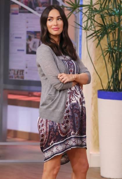 Megan Fox no programa de TV Despierta America em maio de 2016