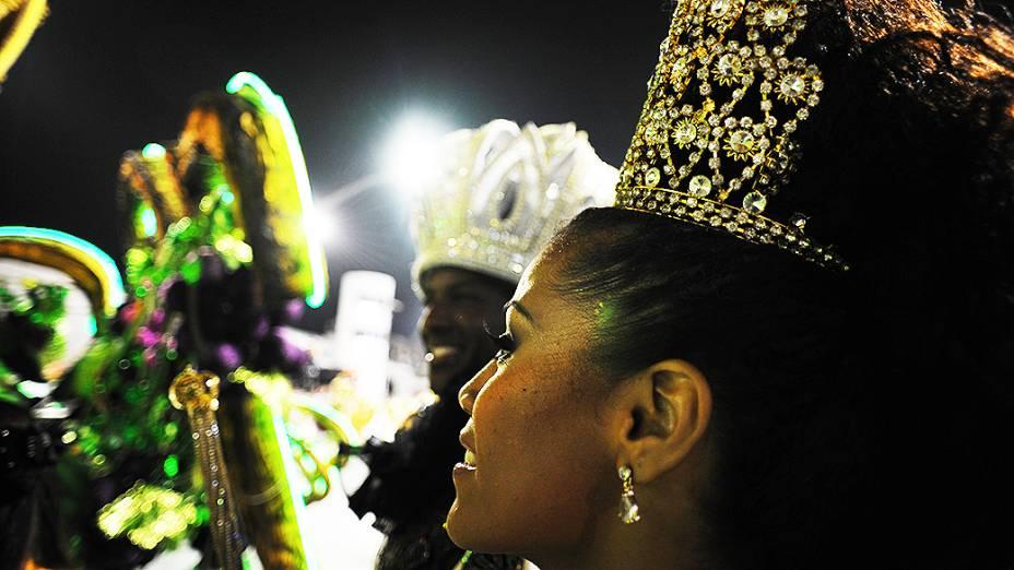 Desfile da Vai-Vai no primeiro dia do carnaval de São Paulo