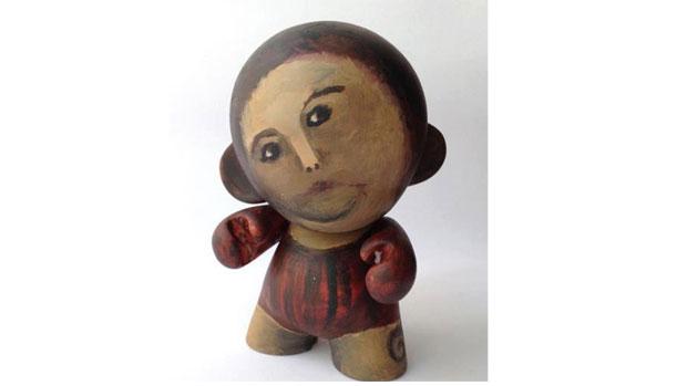 A restauração desastrada inspirou a criação de um toy art
