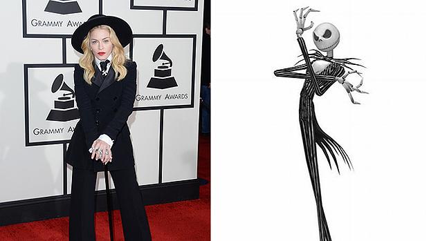 Madonna é comparada ao personagem de O Estranho Mundo de Jack