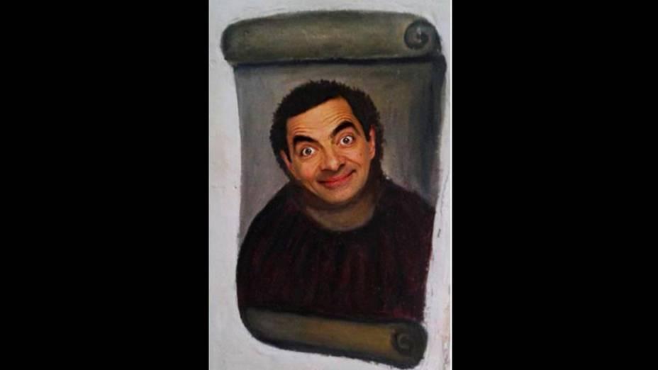"""Meme da obra """"restaurada"""" por idosa na Espanha ganha versão do personagem Mr. Bean"""