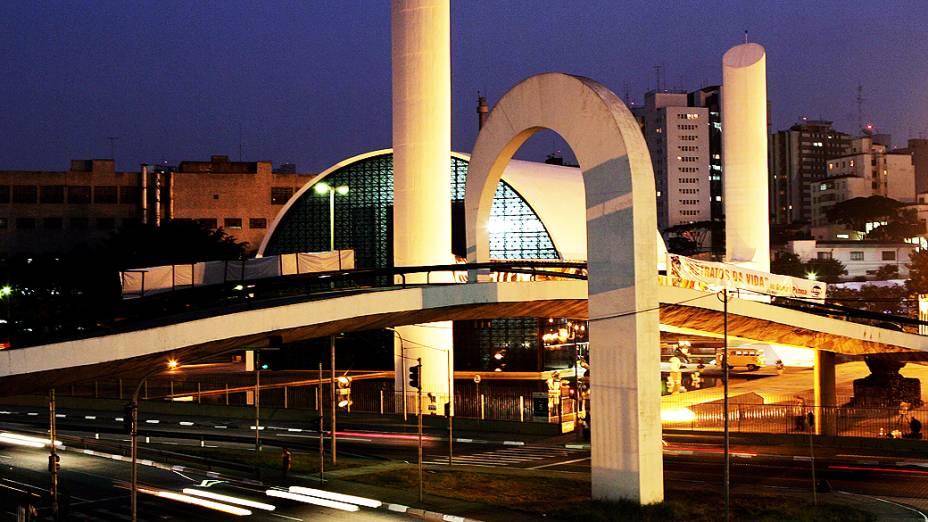 Projetado por Oscar Niemeyer, o Memorial da América Latina foi inaugurado em 18 de março de 1989, em São Paulo