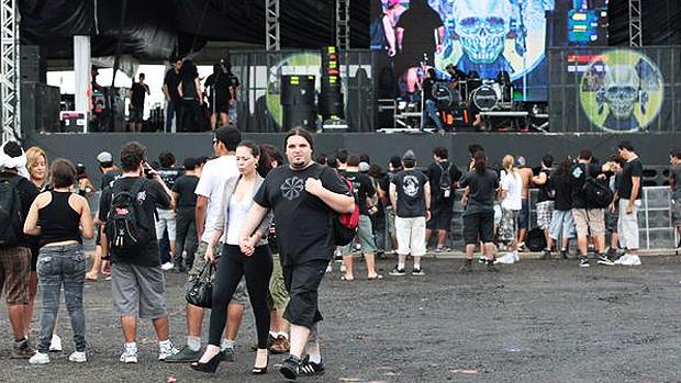 Público no festival Metal Open Air, no Maranhão