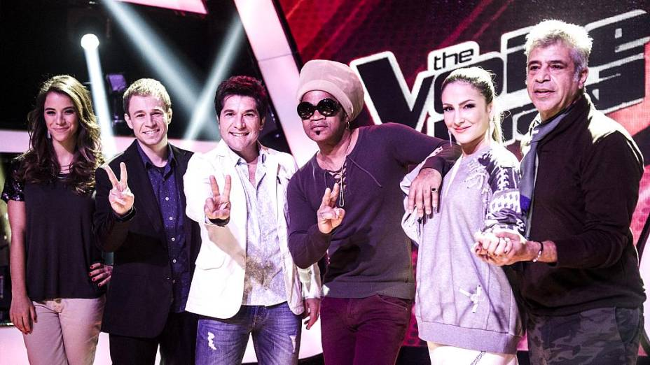 Miá Mello (à esq.) se junta ao time do The Voice Brasil para a segunda temporada