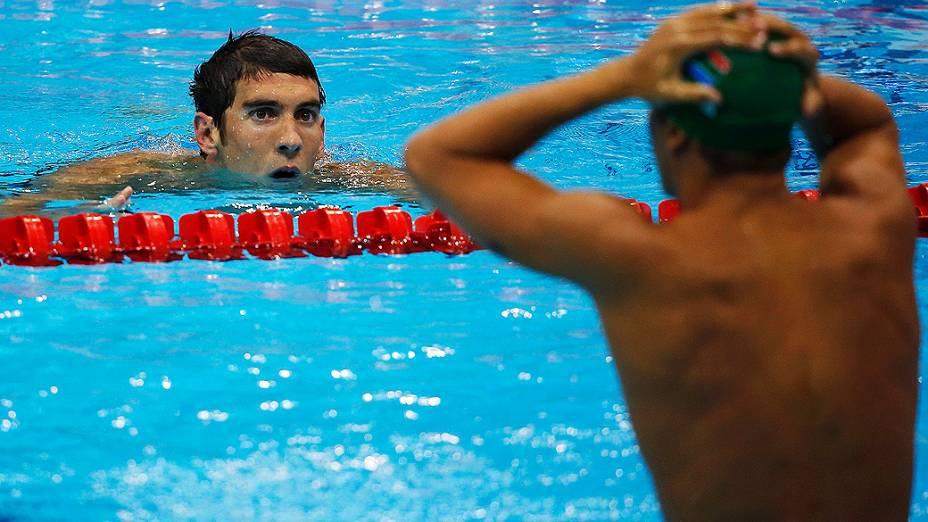 Michael Phelps conquistou sua 18ª medalha em Olimpíadas