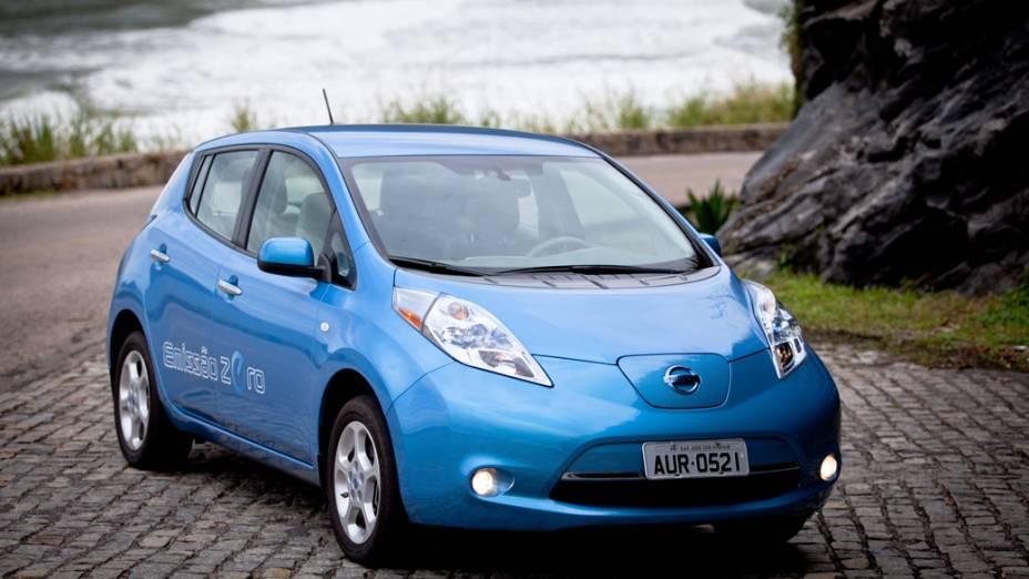 Nissan Leaf: primeiro carro elétrico de série será usado durante a Rio+20