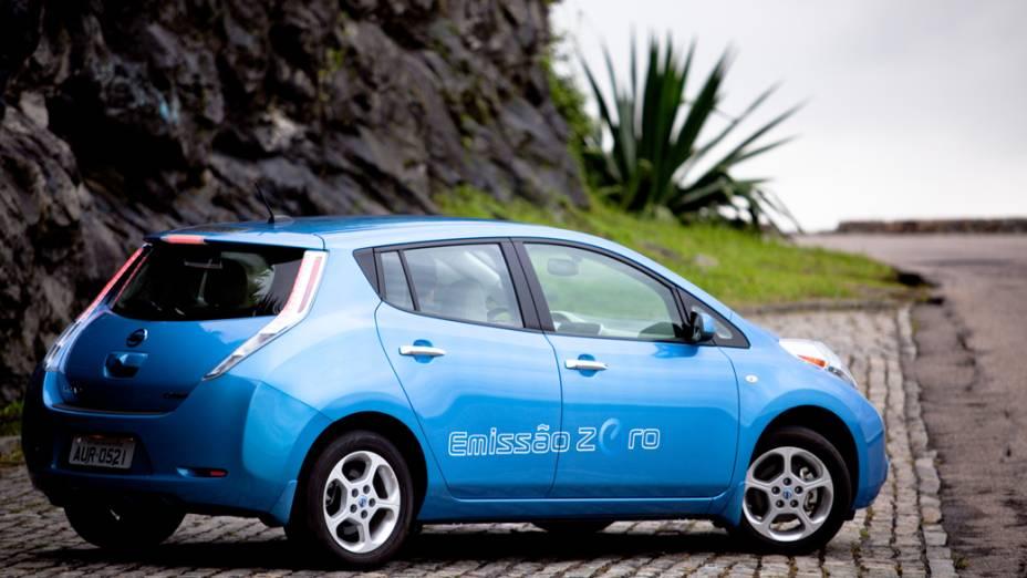 Nissan Leaf: modelo já é testado como táxi em São Paulo